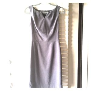 Beautiful grey/gray White House Black Market Dress